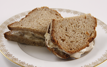 Sandwich made from Artisan Bread made with Mix #6