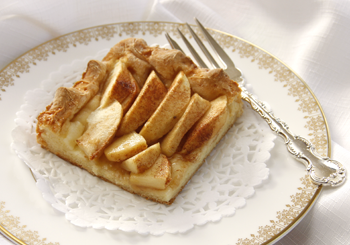 Delicious Apple Kuchen made using Astoria Mills Mix #5 see