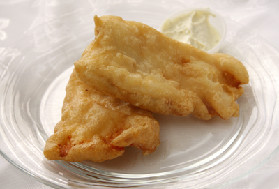 Gluten Free fish batter made with Astoria Mills Mix #3